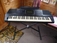 Technics Keyboard with stand also included
