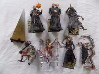 Tortured souls and Hellraiser figures