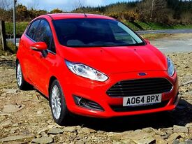 2014 64 Ford Fiesta Titanium 1.5 TDCi, Sony Upgrade, 19,000 Miles, Ford Warranty. Range Topping T...