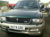 """Mitsubishi challenger 4x4 3.0 petrol manual 2000 v 16"""" alloys excellent engine & gearbox"""