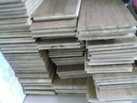 solid oak boards 16 of 120cm x 12 cm & 39 of 12cm x 60cm 1.8cm thickness