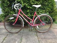 Peugeot Ladies Vintage Road Racing Bike