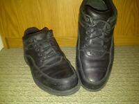 Rockports steel-toes shoes