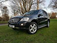 MERCEDES ML 280 SPORT CDI 7GTRONIC 4x4 4MATIC 57PLATE,SAT NAV,LEATHERS,HEATED ELEC SEATS,PDC,PRIVACY