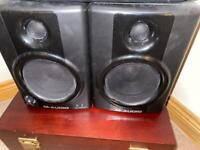 M-Audio AV40 Speakers.