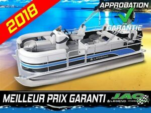2018 Legend Boats Ponton Enjoy Fishing 25 ELPT Bateau pêche **Pr