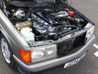 1992 Mercedes Benz 190E W201 2.0 Petrol Automatic Two Tone Grey Classic
