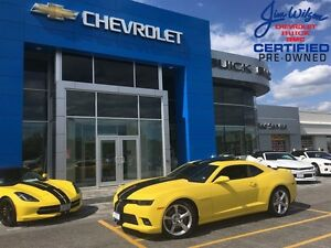 2014 Chevrolet Camaro 2SS V8 RS PKG LOW LOW KMS AUTOMATIC!!!