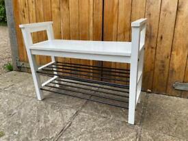 Shoe bench & rack- IKEA Hemnes