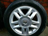 Alloys and tires Renault Scenic