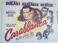 large casablanca film canvas picture vintage wall art