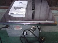 POWER BASE EXCEL PBXB700TC 700W TILE CUTTER WITH ADJUSTABLE BENCH + MANUAL E**Y I**M 263034233654