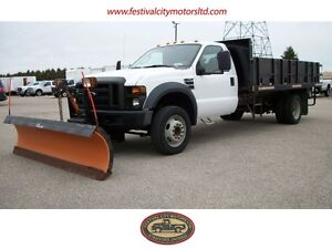 2008 Ford F-550 XL Regular Cab with Arctic Plow