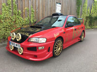 SUBARU IMPREZA + 2.0 TURBO 2000 + 4 DR SALOON + FULLY MODIFIED + A REAL HEAD TURNER