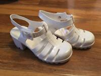 Girls ( jelly ) shoes size 10