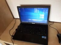 Asus Laptop - Intel i3 1.8GHz, 4GB, 320GB, windows 10 Pro, HDMI, webcam