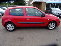 2005 RENAULT CLIO EXTREME 16V!! WITH SERVICE HISTORY AND FULL MOT!! A BARGAIN AT £849!!