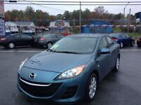 2010 Mazda MAZDA3 ONLY 54,000 KMS, 4 NEW TIRES, NEW SAFTEY.