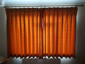 Good quality curtains pinched pleat lined curtains