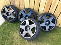 Bola 18 inch alloys 5x100 only 3 months old