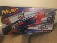 BRAND NEW UNOPENED MOTORISED NERF GUN RAPID STRIKE CS-18 WITH 18 BULLETS RRP £39 see pic