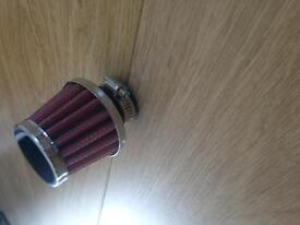 Oil cone breather filter.. 22mm