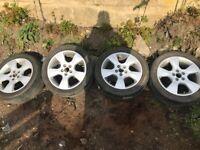 17 inch alloy wheels Vauxhall vectra zafira Astra alloy wheels 5 x 110 pcd alloys