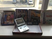 Gameboy advance sp 001 x2 bundle with games