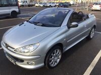 2006 PEUGEOT 206CC 1.6 SPORT / NEW MOT / DRIVES WELL / LOW MILES / CARDS TAKEN / WE DELIVER