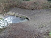Free Woodchip needed for Chesterfield Canal Trust