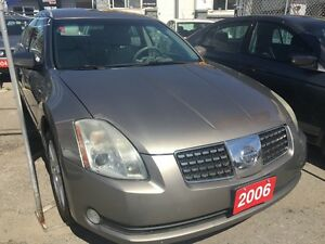 2006 Nissan Maxima Alloys Panoramic Sunroof Heated Seats & Steer