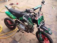 Super stomp125 - wicked bike not crf kxf kx cr yzf yz dirt bike rmz