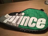 1 x New with tag Prince Team 6 Pack Racket Bag Ideal Christmas gift Coulsdon nr Croydon CR5