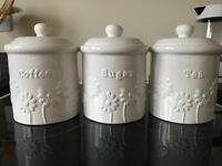 DUNELM KITCHEN CANISTERS