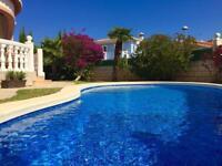 'Casa Rose' holiday villa, Denia , Costa Blanca