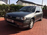 Nissan Sunny GTI 2.0 PETROL (1993) (LHD), EX NISSAN MOTORSPORT EUROPE CAR. IMMACULATE ,1 YEARS MOT