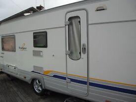 burstner ventana classic 520tl touring caravan