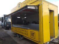Catering trailer lpg equipment burger van mobile kitchen commercial horsebox