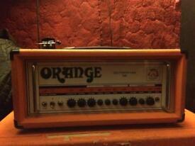 Orange Thunderverb 200 head amp