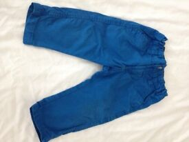 Polarn O. Pyret boys trousers 9-12 months