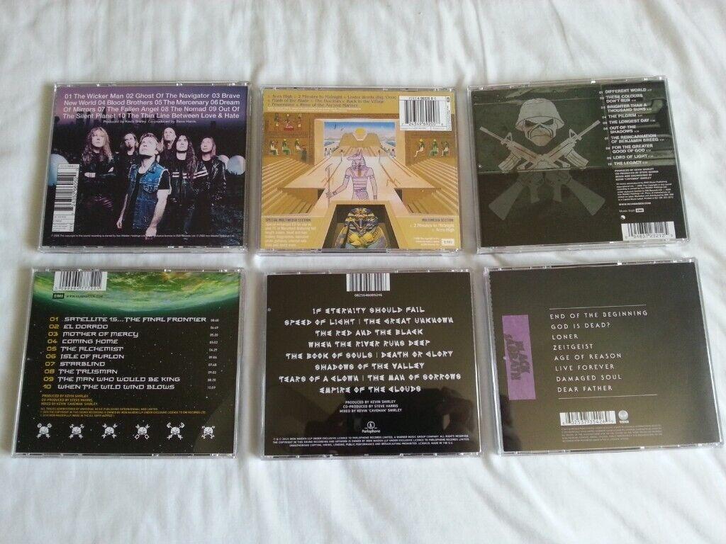 23 Iron Maiden, Black Sabbath CD's, A1 condition    in Lymington, Hampshire    Gumtree
