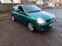 2004 Renault Clio 1.2 full years mot mint we car low miles