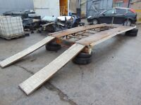 MERCEDES SPRINTER LWB RECOVERY TRUCK BODY WITH RAMPS READY TO BOLT ON 2006-2015