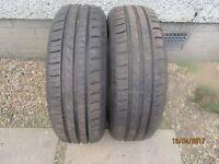 2 tires 185/60 R15