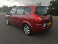 7 SEATER RENAULT GRAND SCENIC 1.5 DIESEL MANUAL IN CLEAN CONDITION. LONG MOT. 2 PREVIOUS OWNERS