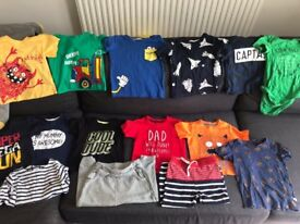 Baby boy bundle of clothes size 18-24 months, 1.5-2 great condition