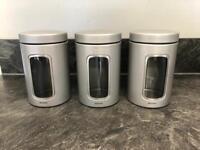 Brabantia 3 Piece Kitchen Set Containers