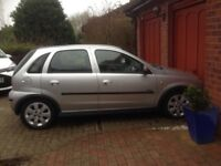 Vauxhall Corsa 1.2L Silver