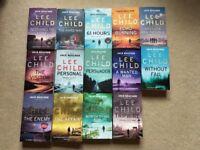 Lee Child - Jack Reacher Series - 14 Book Bundle