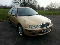 ROVER 25 1.6 iL Step Auto 3dr 2002 with an extremely low 33771 miles in Gold. Not Fiesta or Astra
